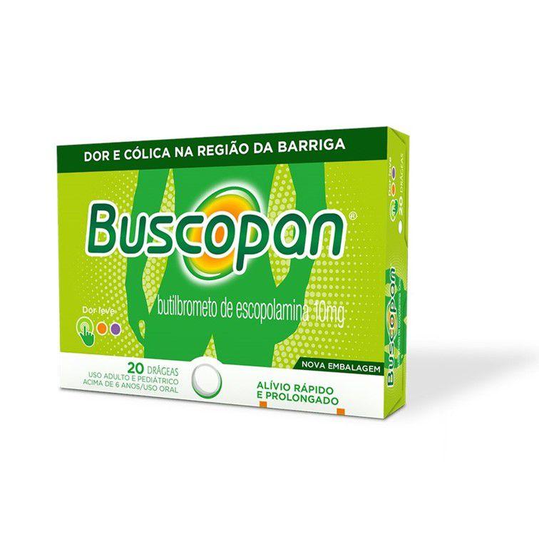 BUSCOPAN 20 DRGS