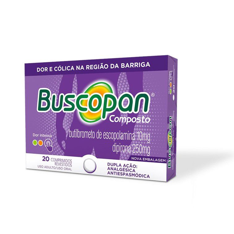 BUSCOPAN CPTO 20 DRGS