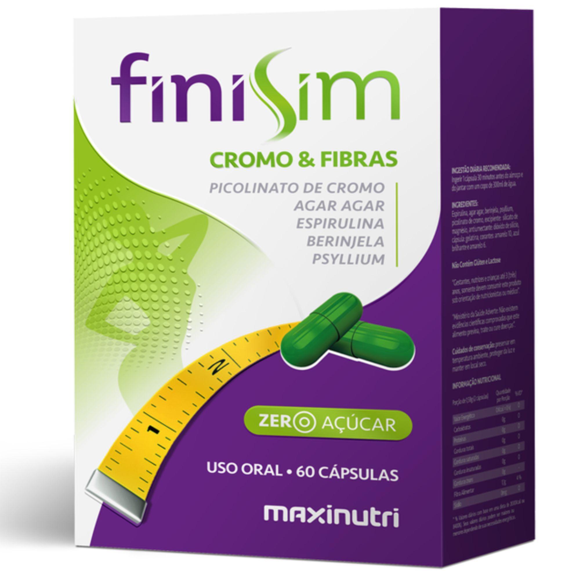 FINISIM (CROMO E FIBRAS) 60CAPS-MAX