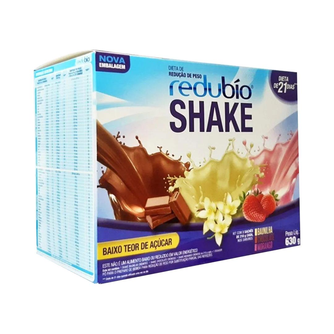Redubío Shake - Dieta Redução de Peso - Dieta de 21 dias - 630g