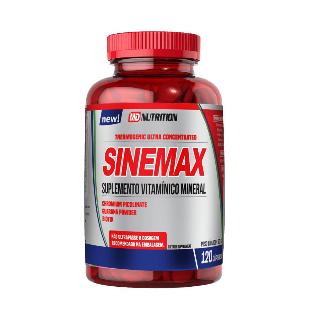 Suplemento Vitamínico Mineral Sinemax c/ 120 Cápsulas