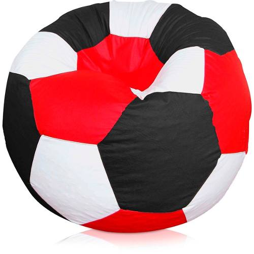 Puff Bola Futebol Infantil Vai Cheio Da Fábrica
