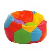 Puff Bola Colorido 90 cm diâmetro Promoção Vazio Sem Enchimento Com Ziper