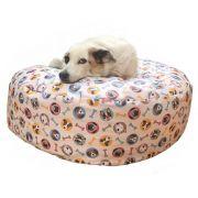 Puff Para Pet tamanho P Medidas 70diametro x 20altura Impermeável Fácil Limpeza