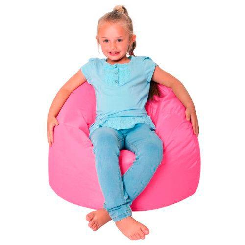 Puff Pera Infantil Tecido Suede Pronto Para O Uso Kids SUEDE