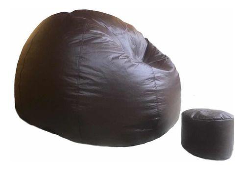 Puff Pera Duplo + Apoio Redondo Gigante com enchimento SOMENTE RETIRADA