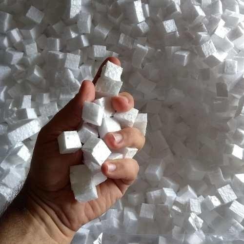 Isopor Em Cubos P/ Proteção Embalagem 100 Litros