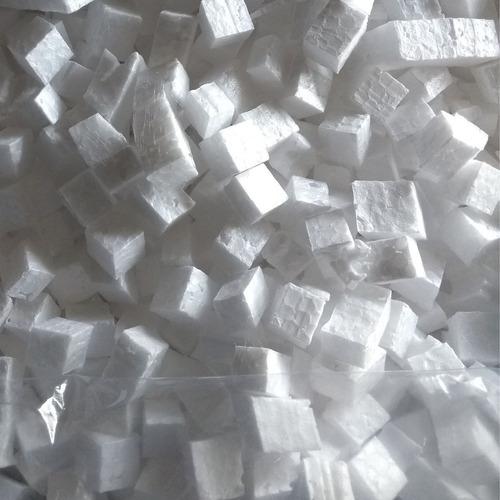 Pedaços De Isopor Em Cubos 50 Litros