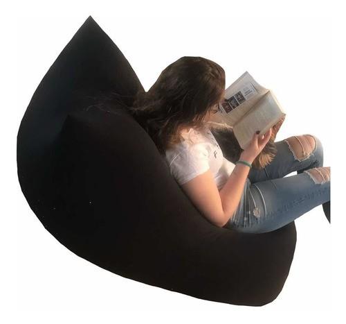 Puff Relax Poliamida Com Zíper Para Encher 130cm X 80cm
