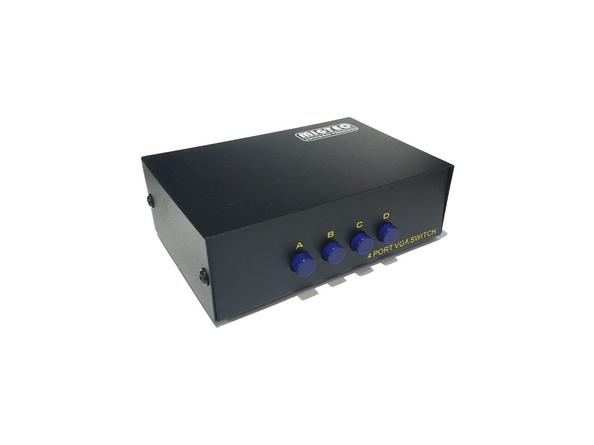 Chaveador VGA Switch 4x1 ELV14