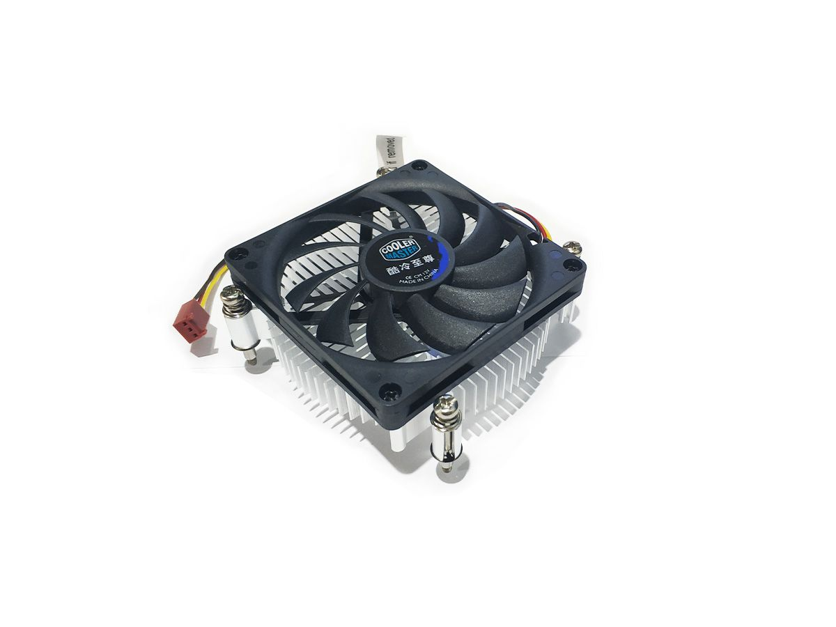 Cooler CoolerMaster H115 DP6-8D1SA-B1 - LGA 1150, LGA 1155, 1156