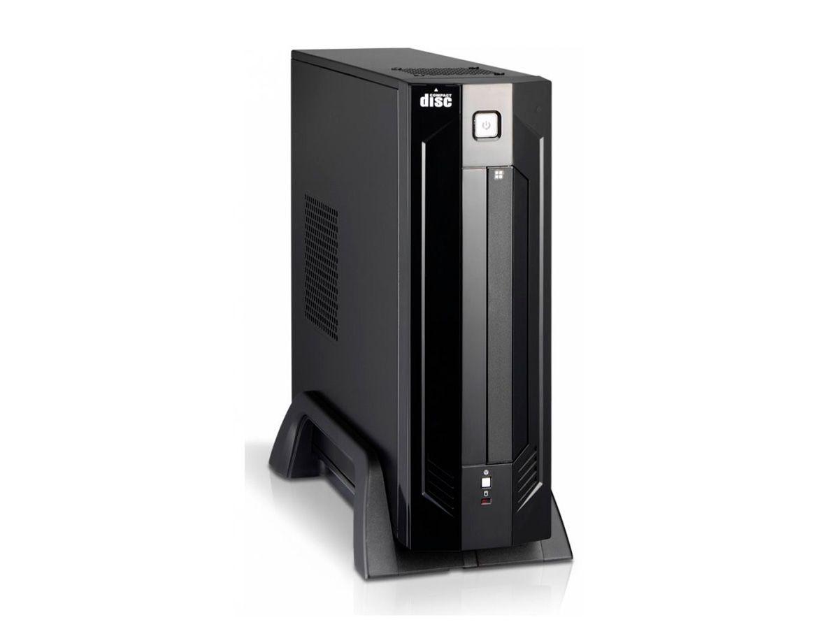 Gabinete Slim Mini ITX K-MEX GI-9D89 com fonte e Cabo