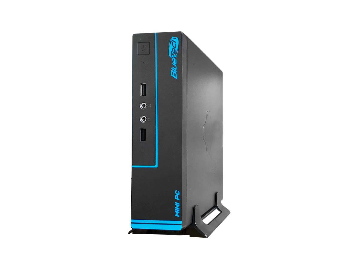 Mini PC Bluetech 2K-V2 J1800 Intel Dual Core, 4GB DDR3, SSD 120GB, HDMI, VGA, 2x Seriais