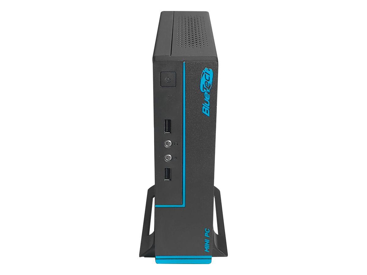 Mini PC Intel 2KV2 Quad Core J4105, 4GB DDR4, SSD 120GB, HDMI, VGA, Serial, USB 3.0, Rede Gigabit