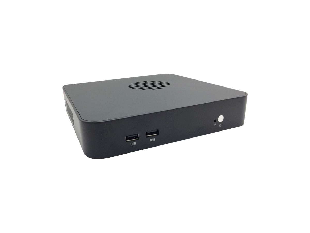 Mini PC Bluetech Slim Quad Core, 4GB DDR3, SSD 64GB, 1x HDMI, 1x VGA, LAN Gigabit, Wifi, Bluetooth, Win 10