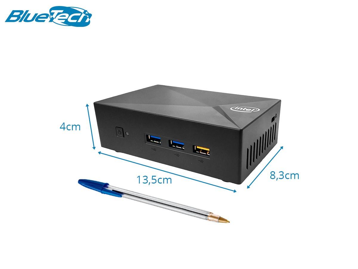 Mini PC LV XE Intel Quad Core, 2GB DDR3L, 32GB eMMC, 1x VGA, 1x HDMI, 3x USB 3.1, 1x RJ45 LAN, WIfi