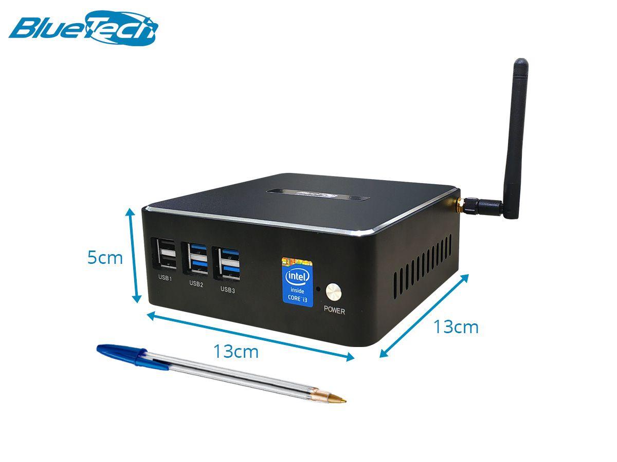 Mini PC NUC Intel Core i5, 8GB DDR3, SSD 240GB, 1x HDMI, 1x VGA, 6x USB, 1x LAN RJ 45 Gigabit, Wifi, Windows 10 Pro