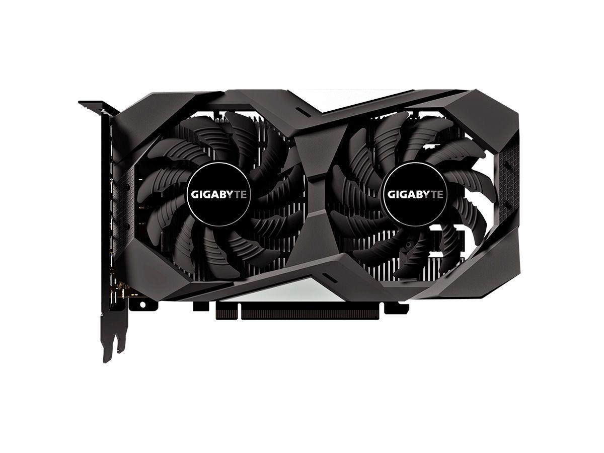 Placa de Vídeo GeForce GTX 1650 WINDFORCE OC 4G GDDR5 GV-N1650WF2OC-4GD Gigabyte