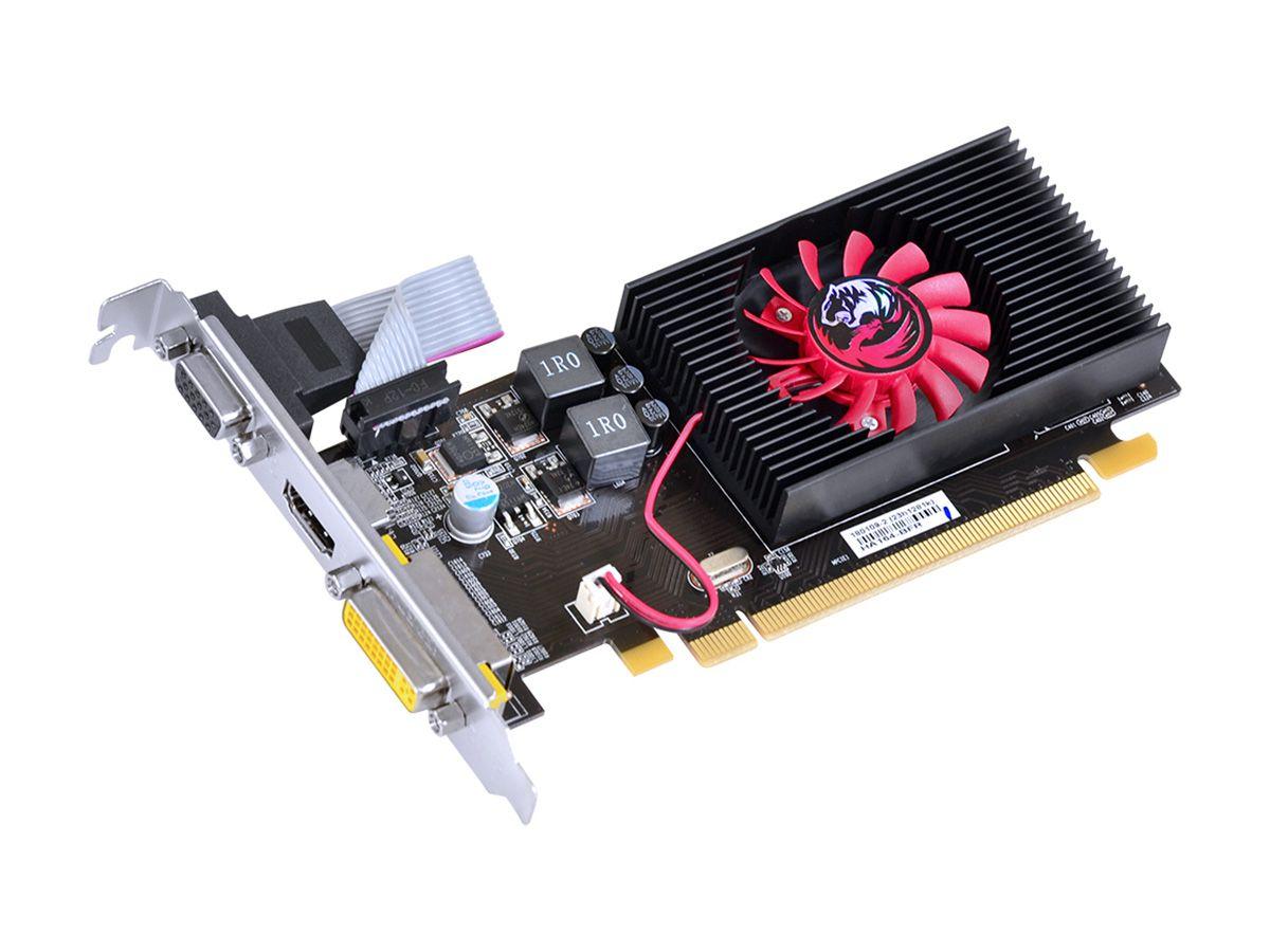 Placa de Vídeo PCYes AMD Radeon R5 230, 2GB, DDR3, Low Profile - PA230R56402D3LP