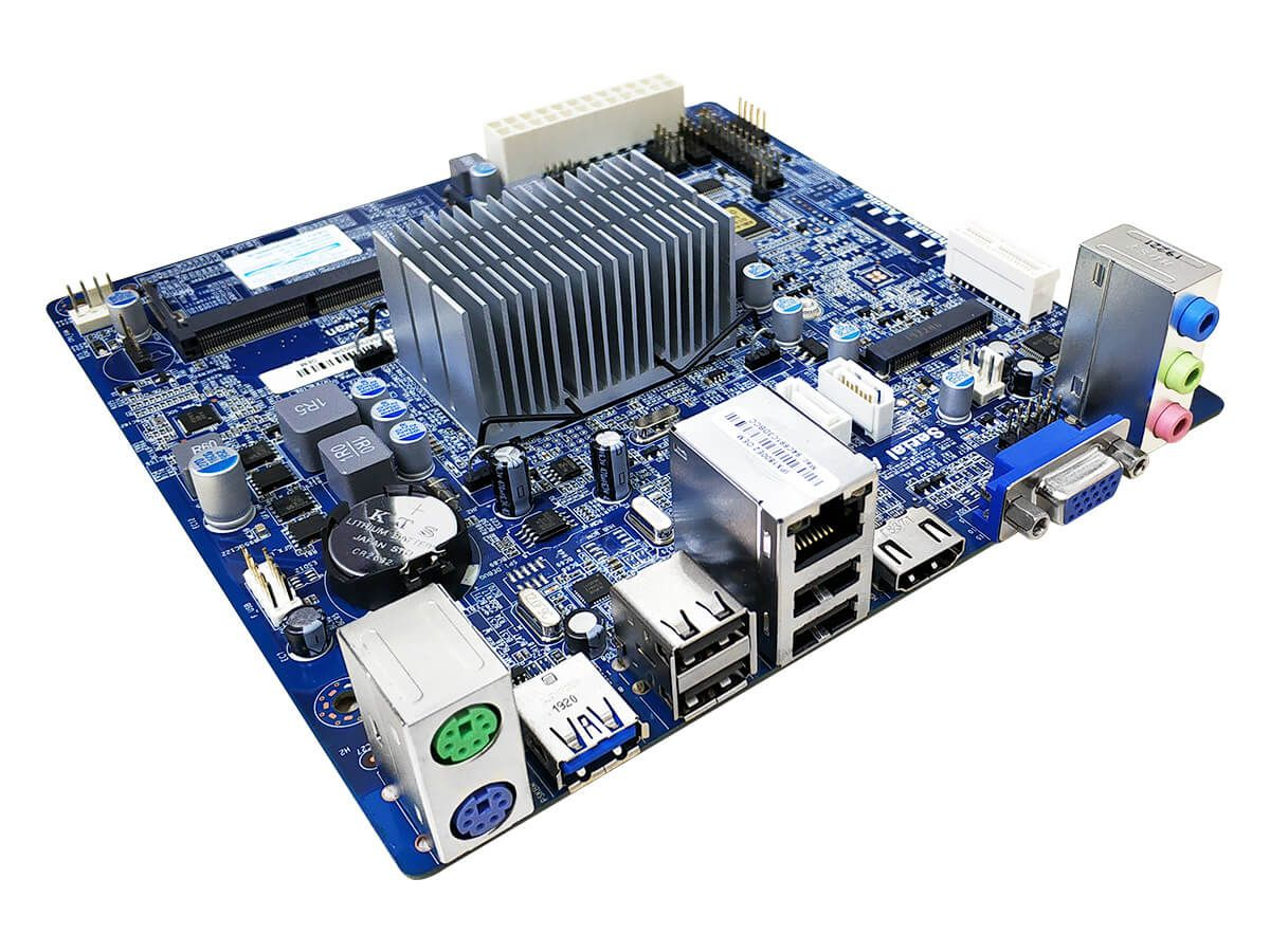 Placa-Mãe Mini ITX OEM PCWare IPX1800E2 com Processador Integrado Intel