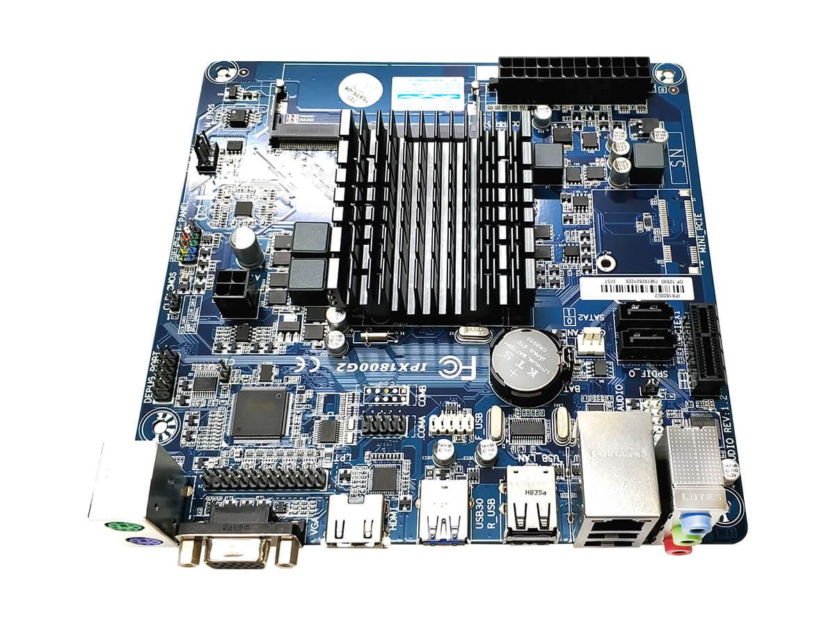 Placa Mãe PC Ware Integrada Mini-Itx Ipx1800g2 Cel J1800 Ddr3 Box
