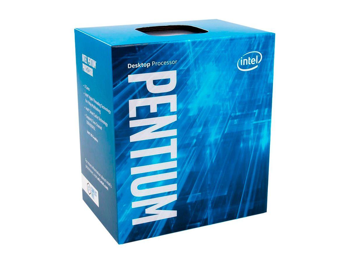 Processador Intel Pentium G4560 Kaby Lake, Cache 3MB, 3.5Ghz, LGA 1151 - BX80677G4560