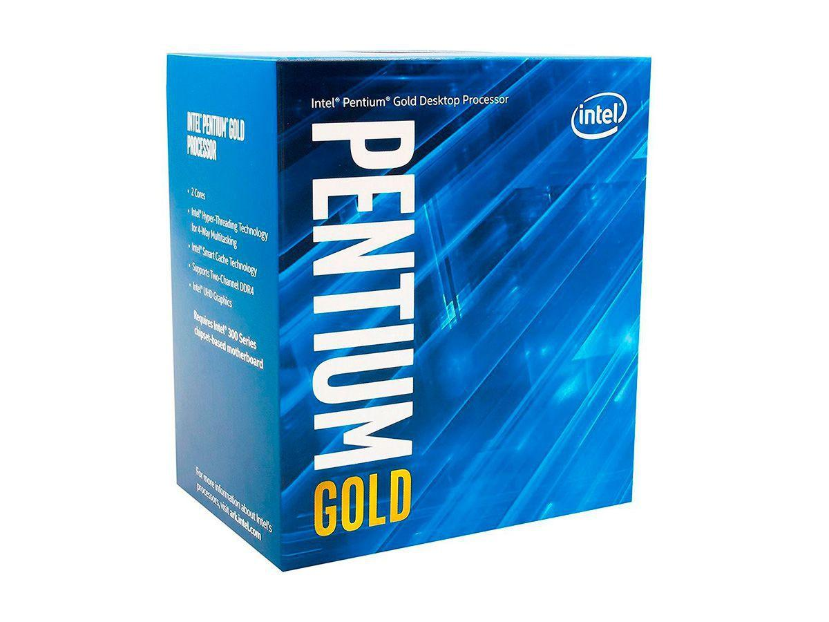 Processador Intel Pentium G5400 Coffee Lake, 8a Ger, Cache 4MB, 3.7Ghz, LGA 1151 - BX80684G5400