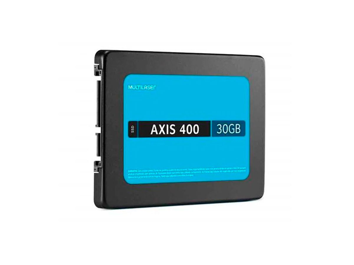SSD Multilaser 2,5 Axis 400 30Gb Ultra Slim - SS030