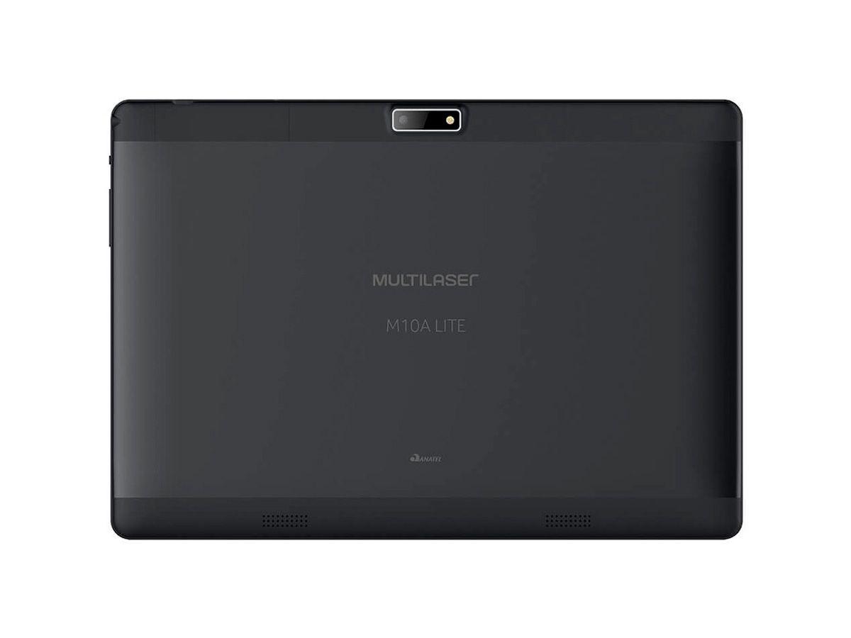 Tablet Multilaser M10A Lite 3G Android 7.0 8GB Dual Câmera 10 Polegadas Quad Core Preto - NB267