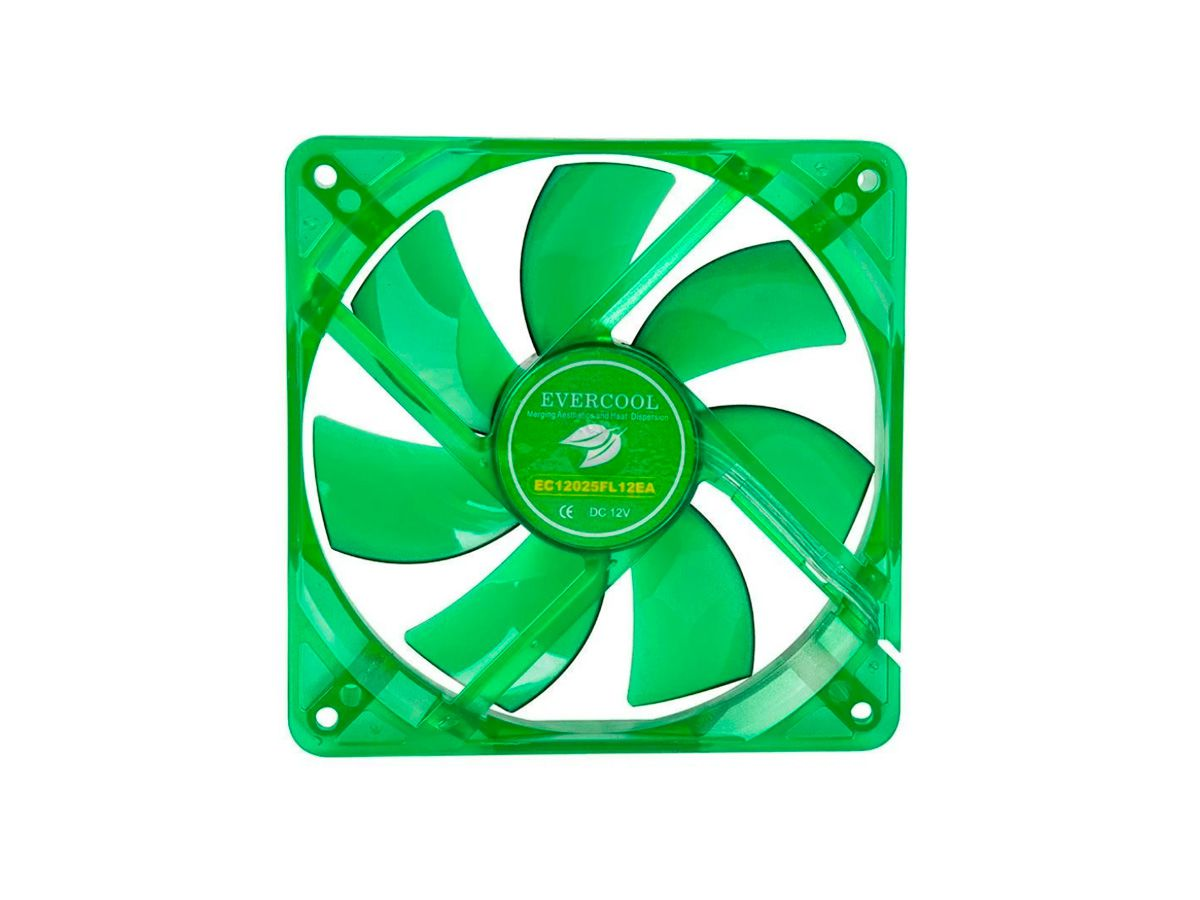 Ventoinha Fan Verde Egf-12 120x120x25mm