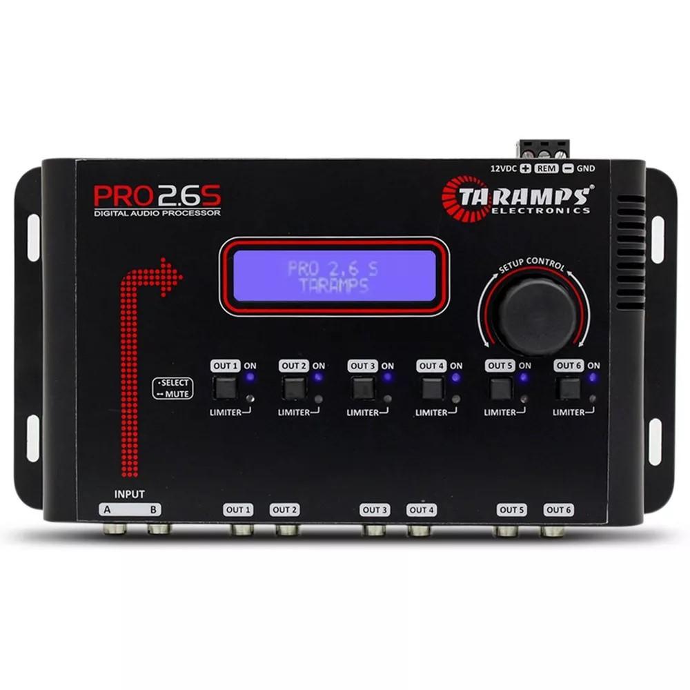 Processador automotivo taramps pro2 6s digital 6 for Ta 2s 0138