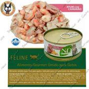 N&D latinha Atum com camarão