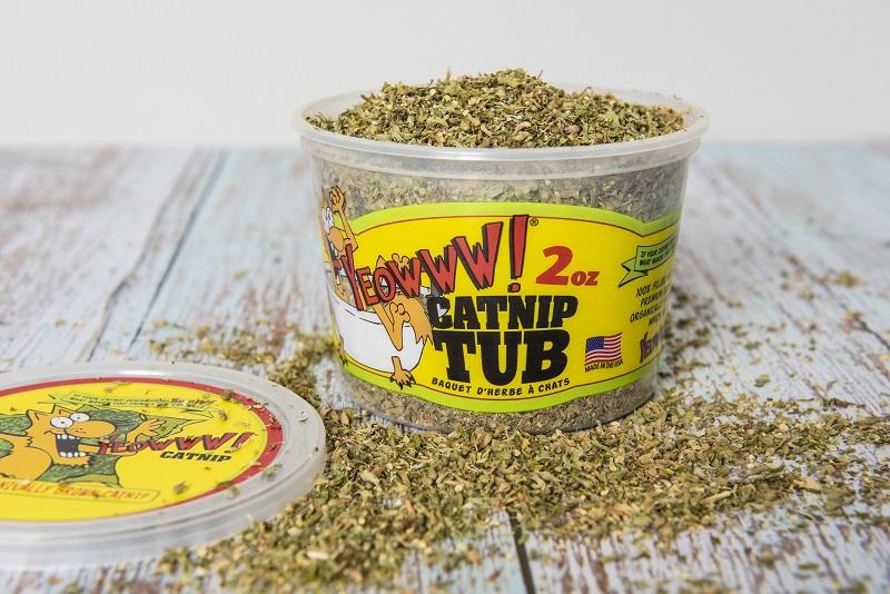 Catnip Orgânico Yeowww Pote 55- 60g