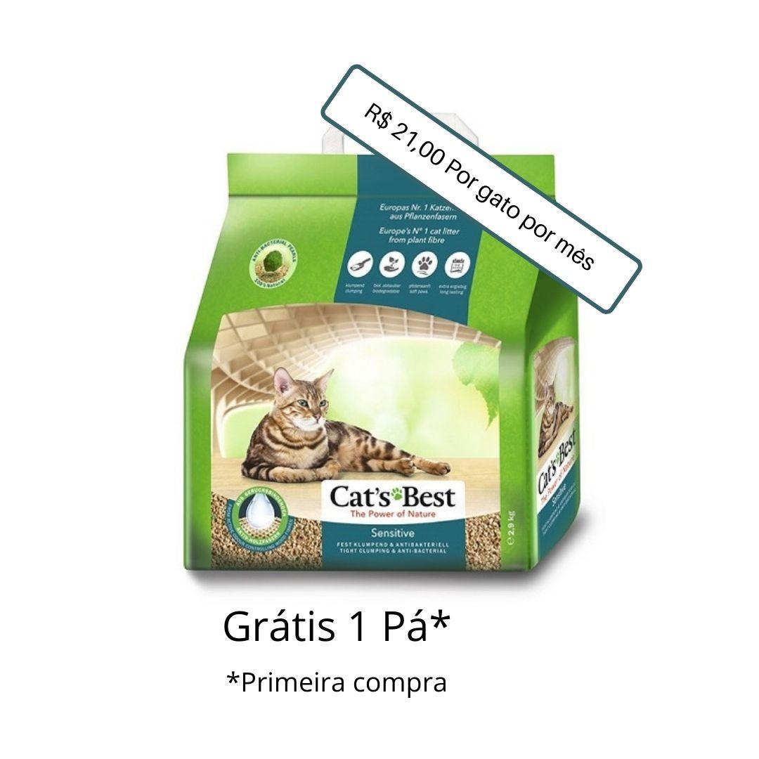 Cats Best Sensitive (fininha) 2,9 kg