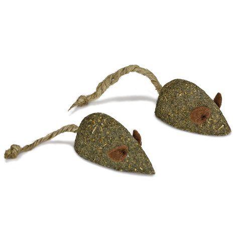 Dupla ratos catnip prensado