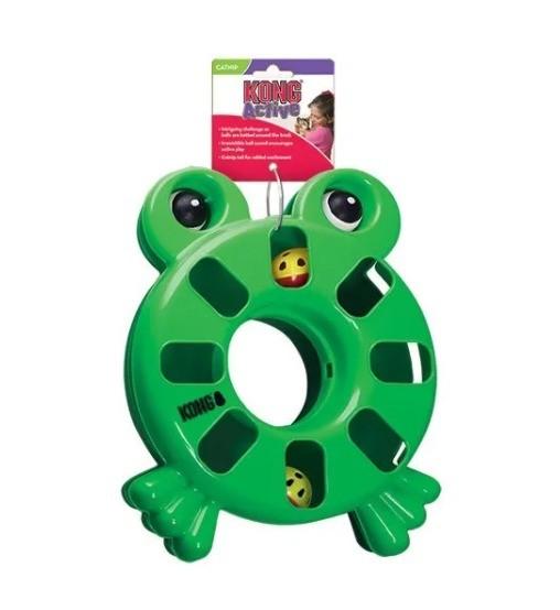 Kong Frog bolinhas