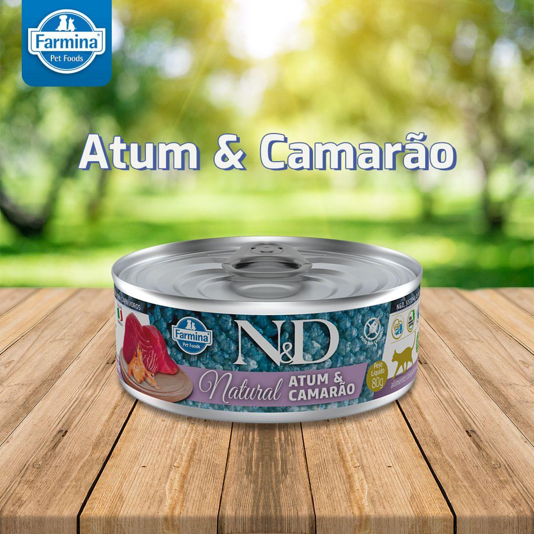 Latinha N&D NATURAL