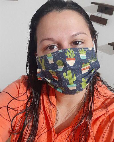 Máscaras de Proteção dupla face