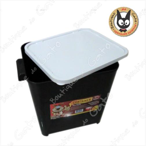 Caixa de armazenamento para ração 4,5 kg