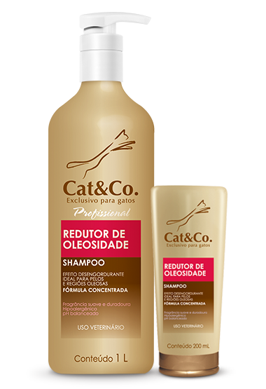 Shampoo Cat & Co Redutor de Oleosidade