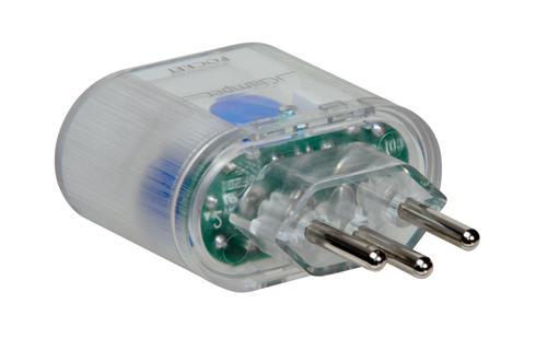 Protetor de Surto Dps Pocket 3p Transparente