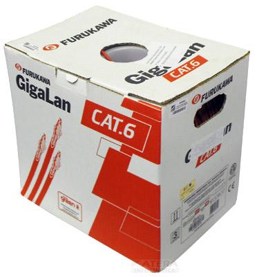 Cabo Utp Gigalan 4 Pares Cat.6  Cm caixa c/ 305m Furukawa