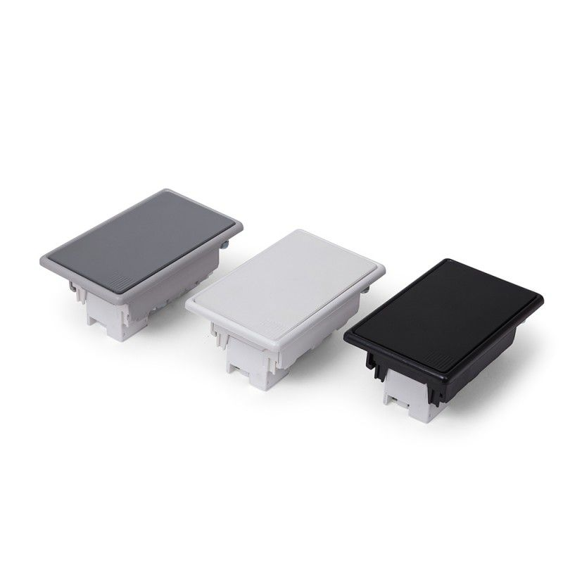 Caixa de embutir  ABS 3 blocos Vazia