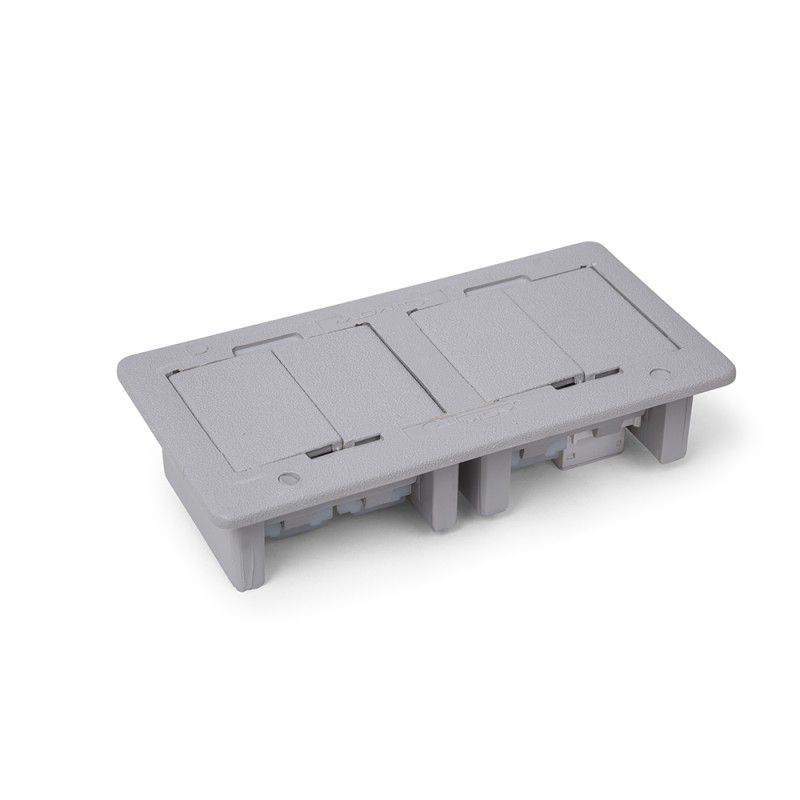 Caixa de embutir - ABS 4 blocos Vazia
