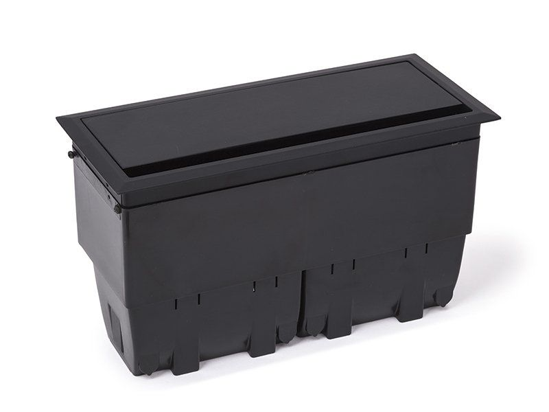 Caixa De Mesa  8 Blocos Alumínio Open Box