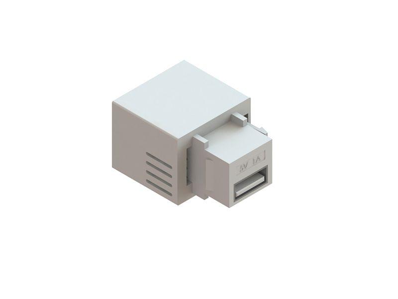 Conector Usb Carregador Charger Keystone 5v 2.1A