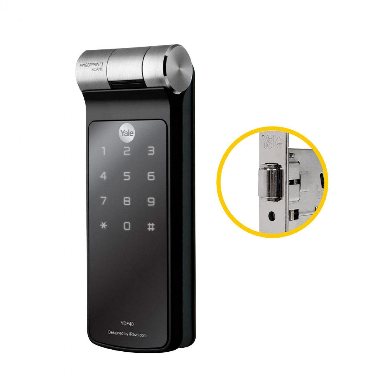 Fechadura Digital Biométrica YDF 40 RL Rolete Yale