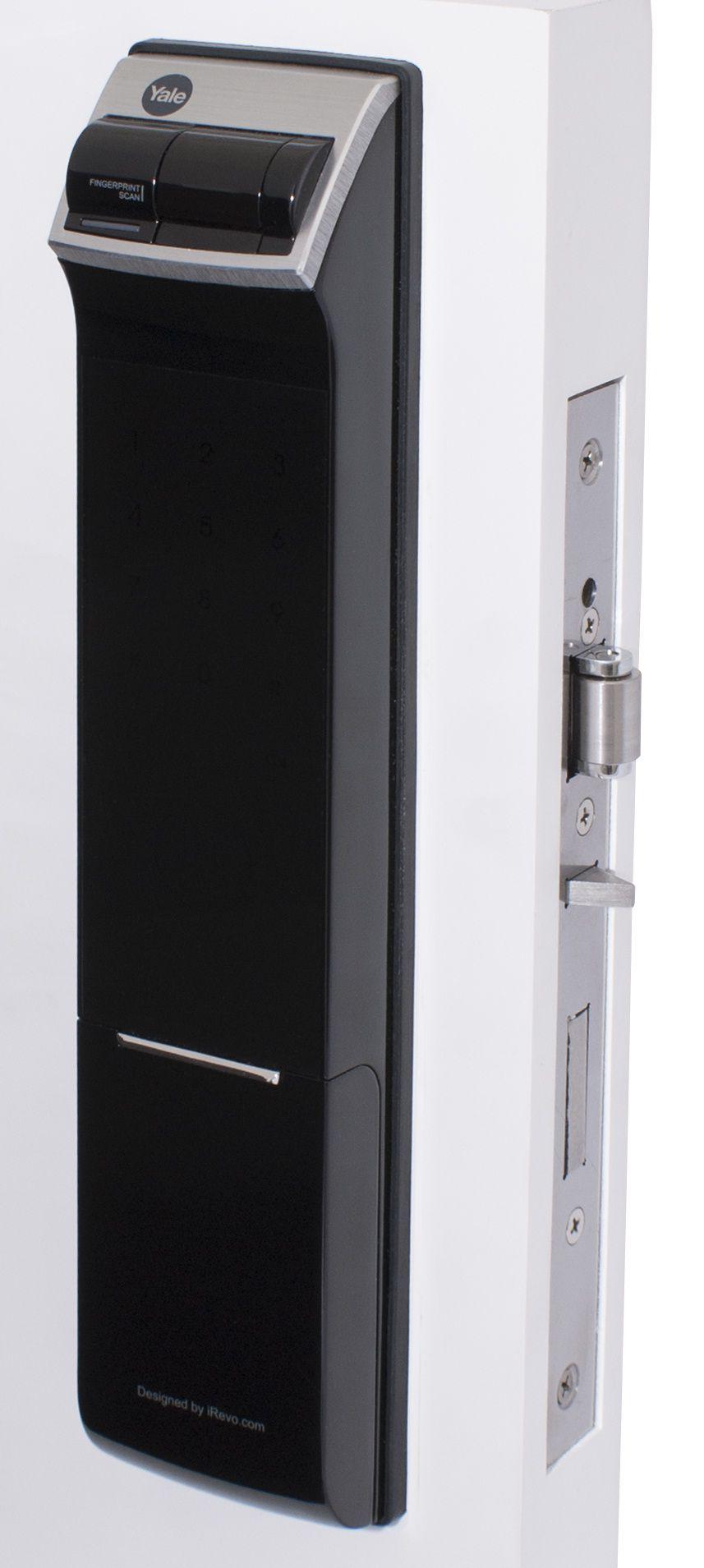 Fechadura Digital Biométrica YDM 4109 Rolete s/ Maçaneta Yale
