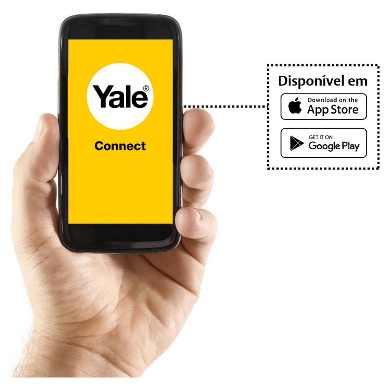 Fechadura Digital Biométrica YMF 40 Yale +Yale Connect
