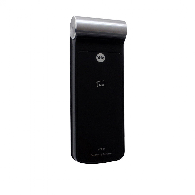 Fechadura Digital Eletrônica Yale Ydf 30 Rl Rolete